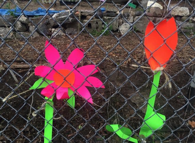 Fluoro flowers