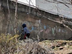 Garden graffiti